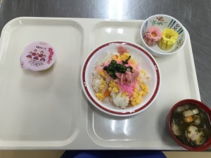 雛祭り昼食